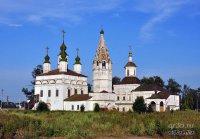 The Ensemble of the Churches at Dymkovo
