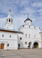 Святые ворота с церковью Вознесения и колокольней