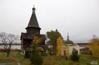 Церковь Успения из Александро-Куштского монастыря