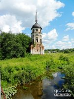 Юго-западная башня ограды Спасо-Суморина монастыря