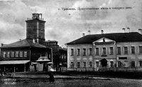Здание суда и пожарного депо