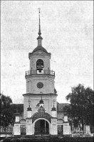 Колокольня церкви Покрова