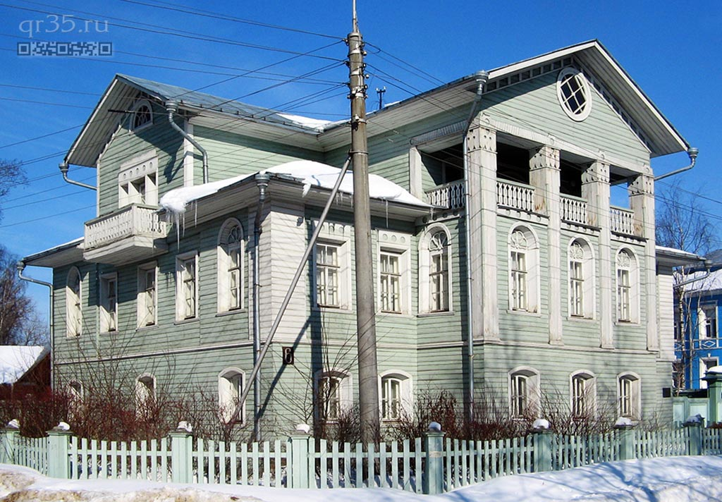 A Habitable house (Zasodimsky's House)