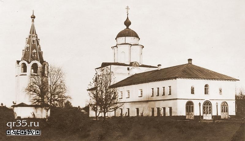 Церковь Церковь Архангела Гавриила (Владимирская теплая)