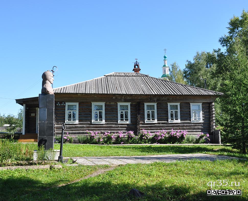 Дом исследователя Северо-Западного побережья Северной Аляски И.А. Кускова